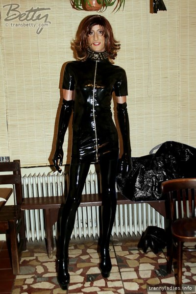 From the first latex fetish party I ever attended